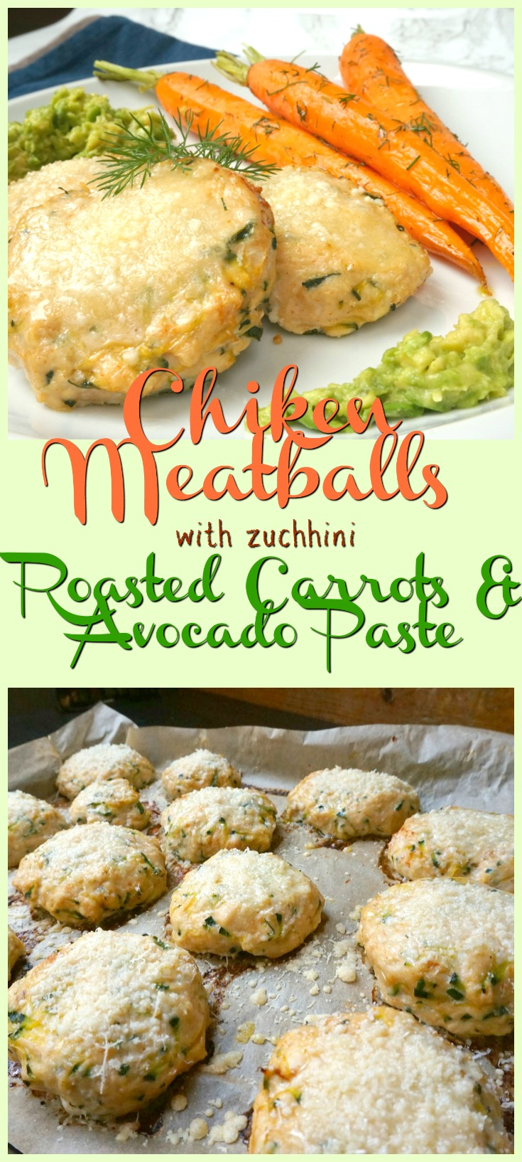 chicken - meatballs - carrots - zuchhini - avocado - gym - fitness - healthy - food