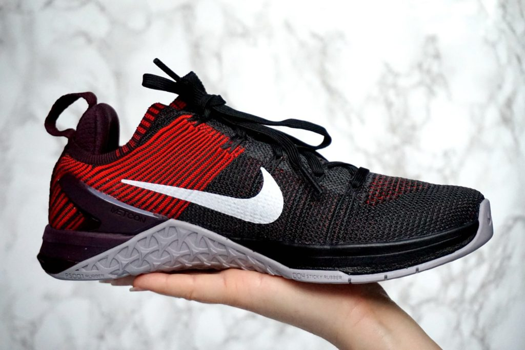 Nike Metcon DSX Flyknit sideview.