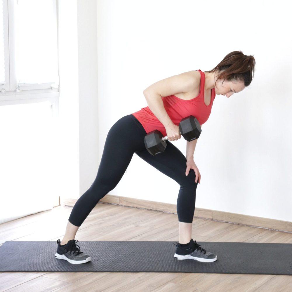 Intense Full Body One-Dumbbell Workout