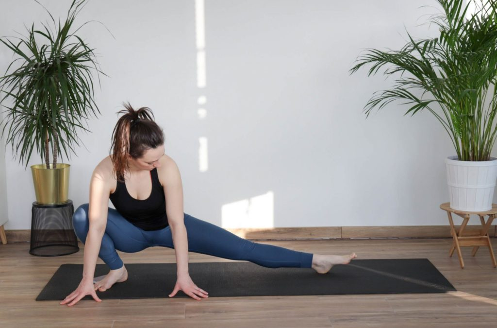 inner-thigh stretch