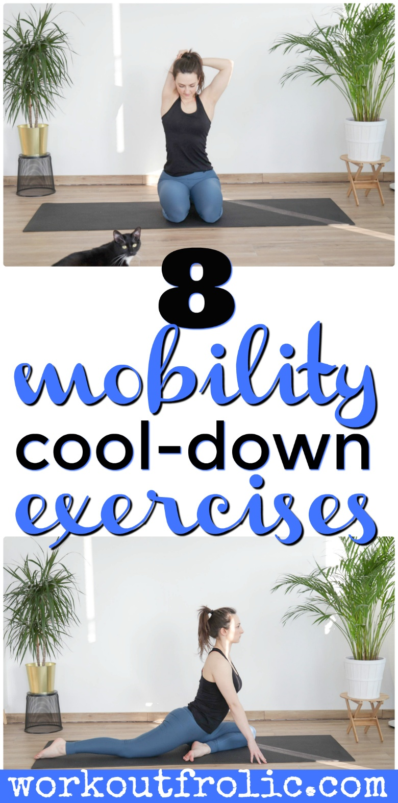 8 mobility cool-down exercises