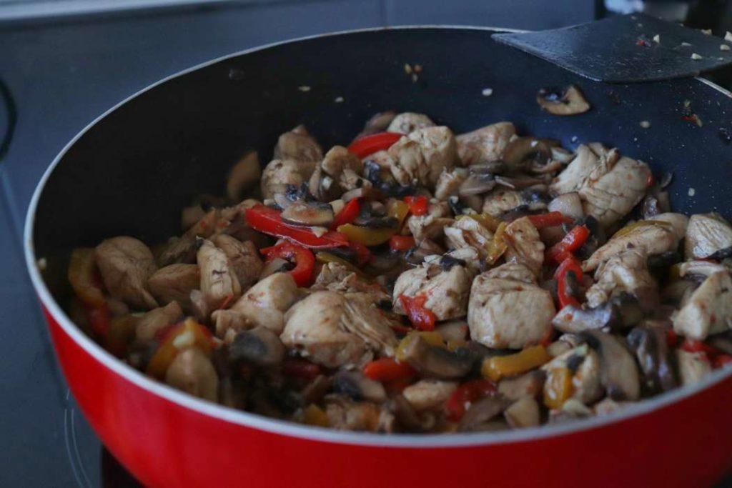stir fry chicken meal prep recipe