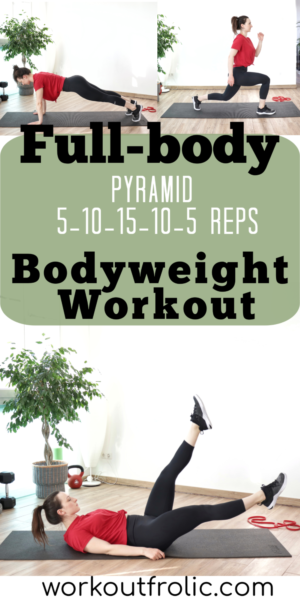 Pin for the Full-body Bodyweight workout