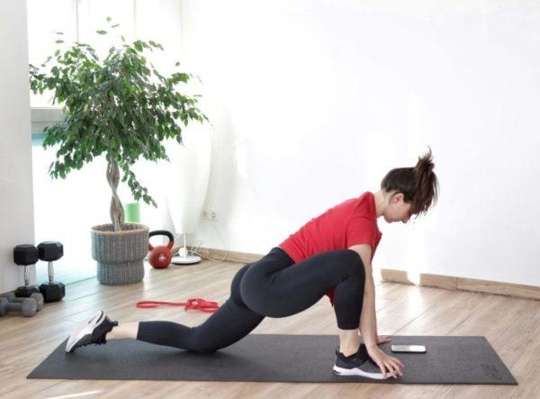 Full-body warm-up exercise demonstration image