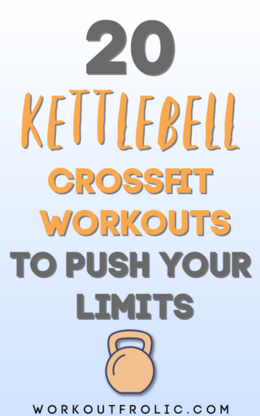 Pin for 20 Kettlebell Crossfit Workouts