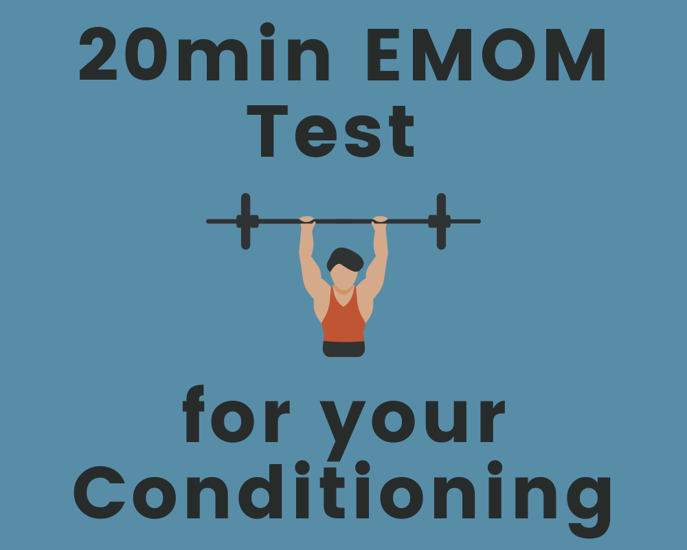 20min EMOM Test for your Conditioning