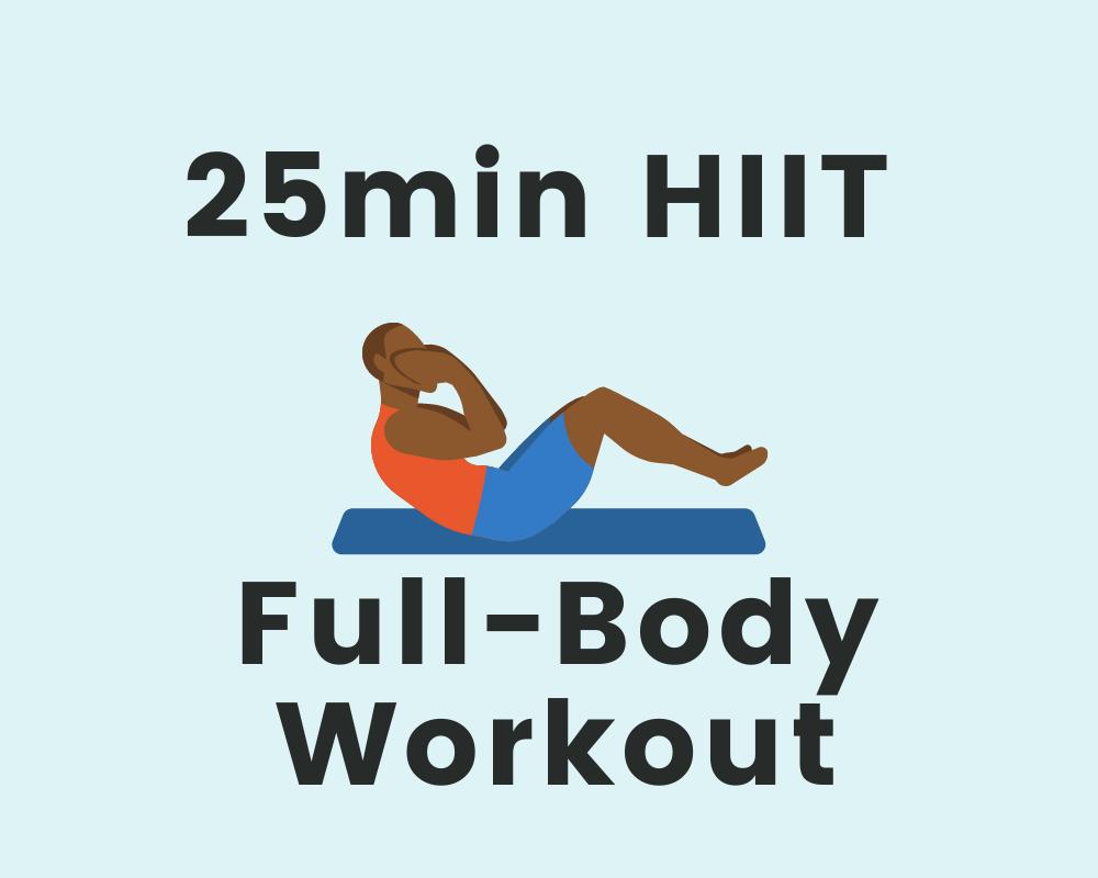 25min Full-Body Workout