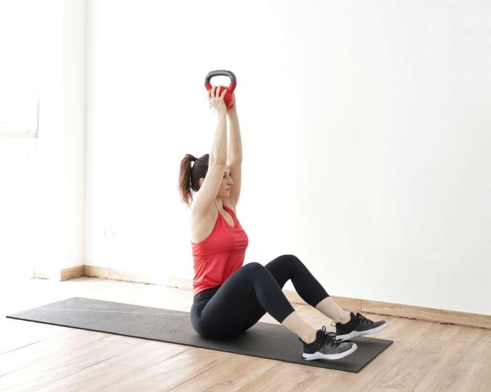 Full-body blast HIIT kettlebell workout