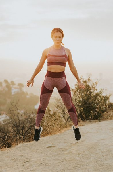Image of women doing a HIIT workout