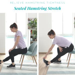 Hamstring Chair stretch